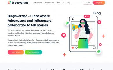 blogsvertise.com screenshot