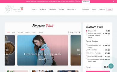 Blossom PinIt screenshot
