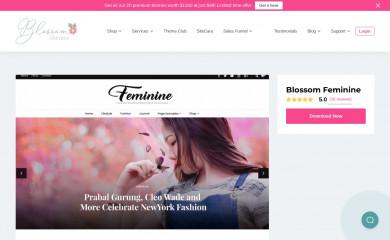 https://blossomthemes.com/wordpress-themes/blossom-feminine/ screenshot