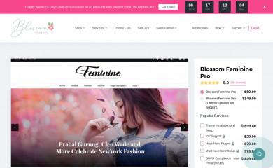 Blossom Feminine Pro screenshot