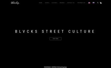 http://blvcks.com screenshot