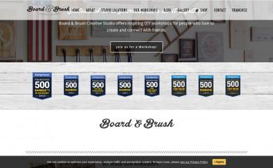boardandbrush.com screenshot