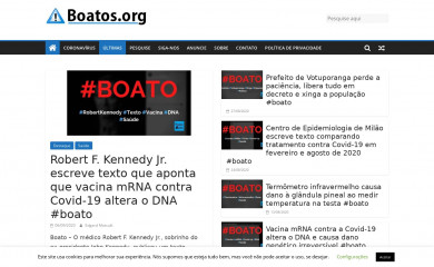 boatos.org screenshot