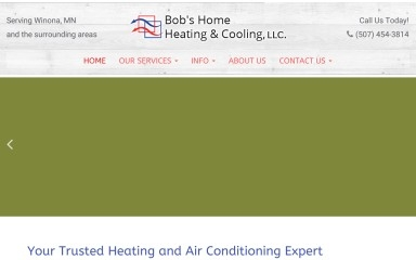 bobshomeheating.com screenshot
