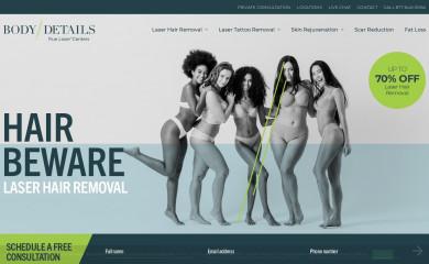 bodydetails.com screenshot