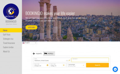 bookingjo.net screenshot