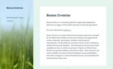 bonuseventus.org screenshot