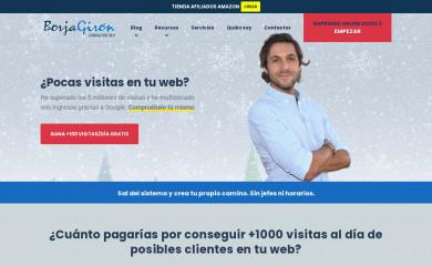 borjagiron.com screenshot
