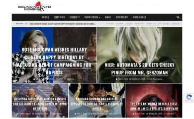 boundingintocomics.com screenshot