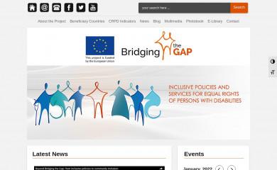http://bridgingthegap-project.eu screenshot