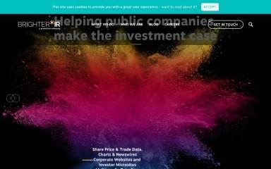 brighterir.com screenshot