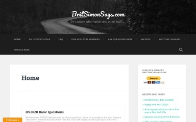 britsimonsays.com screenshot