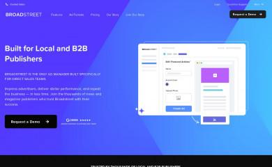 broadstreetads.com screenshot