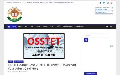 ctet.co.in screenshot