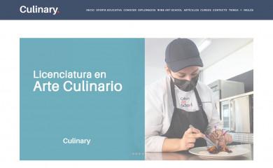 culinaryartschool.edu.mx screenshot