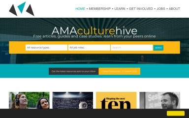 culturehive.co.uk screenshot