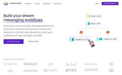 http://customer.io screenshot