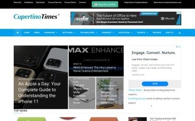cupertinotimes.com screenshot
