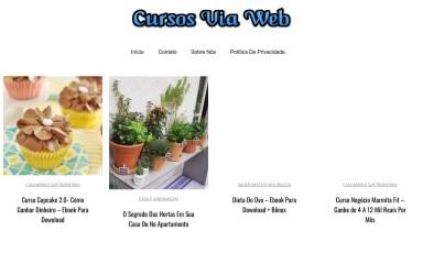 http://cursosviaweb.org screenshot