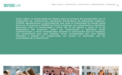cut.edu.mx screenshot