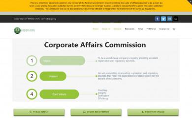 cac.gov.ng screenshot