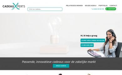 cadeauxperts.nl screenshot