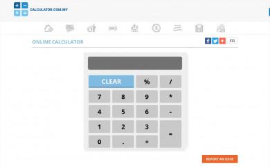 calculator.com.my screenshot