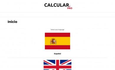 calcular.pro screenshot