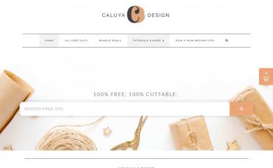 http://caluyadesign.com screenshot