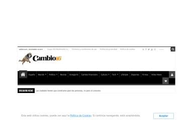 cambio16.com screenshot
