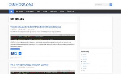 canmose.org screenshot
