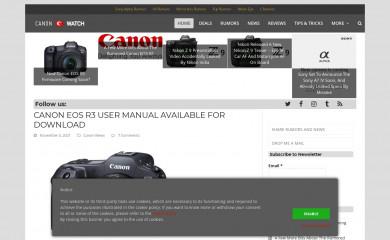 canonwatch.com screenshot