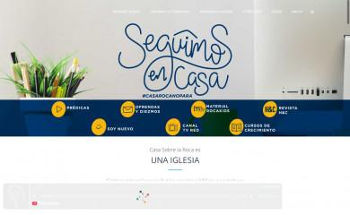 http://casaroca.org screenshot