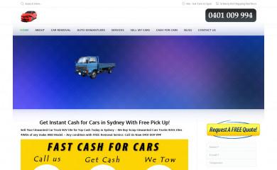 car-removal-sydney.com.au screenshot
