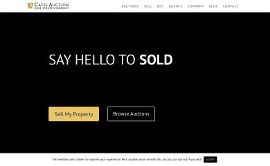 catesauction.com screenshot