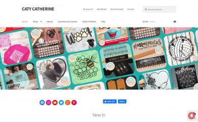 catycatherine.com screenshot