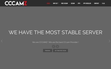 cccamz.com screenshot