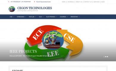 cegontechnologies.com screenshot