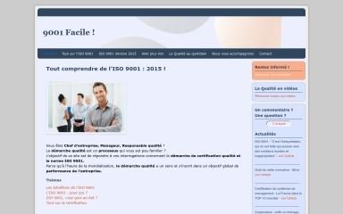 certification-iso-9001.fr screenshot