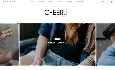 https://cheerup.theme-sphere.com screenshot