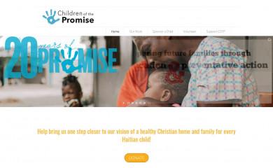 childrenofthepromise.org screenshot