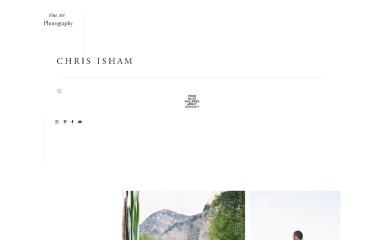 http://chrisisham.com screenshot