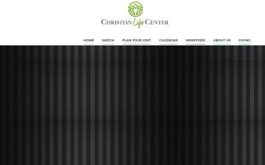 christianlifecenter.com screenshot