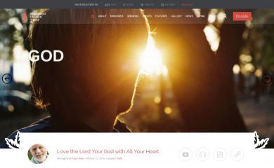 http://church-event.vamtam.com screenshot