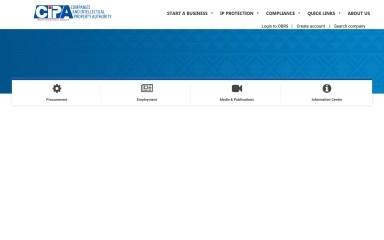 cipa.co.bw screenshot