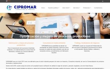 http://cipromar.com screenshot