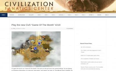 http://civfanatics.com screenshot