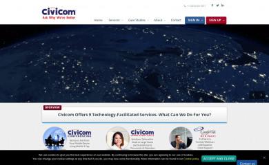 http://civi.com screenshot