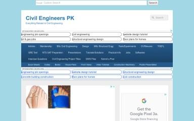 http://civilengineerspk.com screenshot