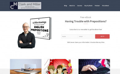 clarkandmiller.com screenshot